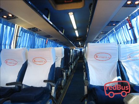 Komitla Travels Bus Seat