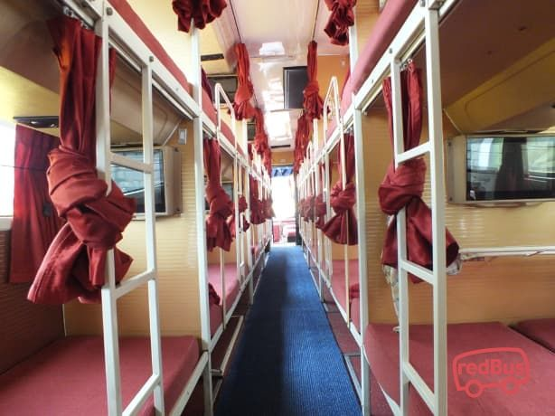 VRL Travels Bus Seat