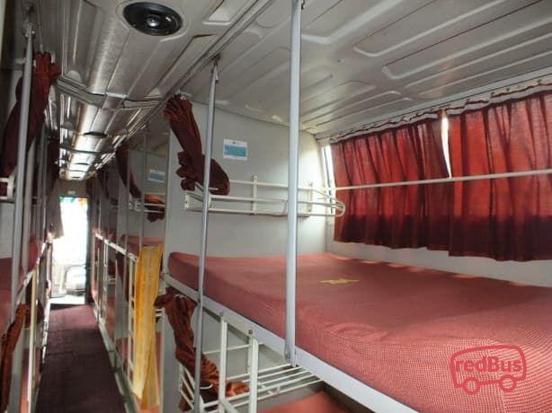 VRL Travels Sleeper Bus Seat
