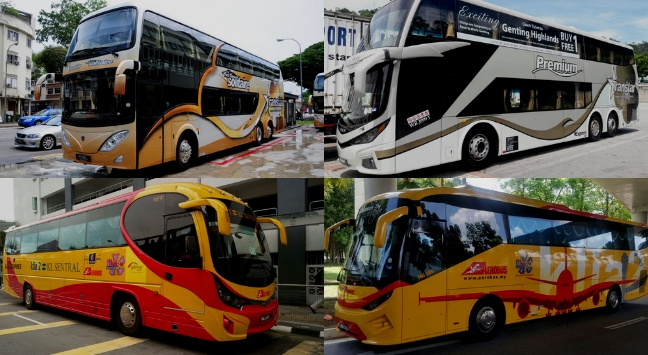 Kuala lumpur to Genting highlands Bus