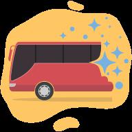 Deep Cleaned Buses