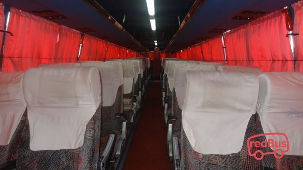 KPN Travels Bus Seat