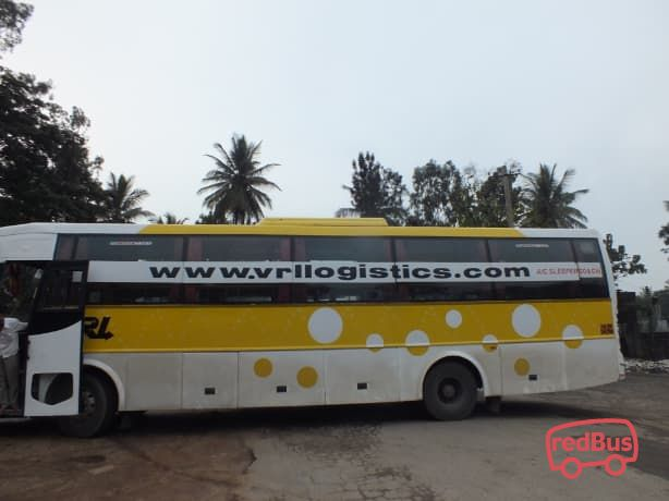 VRL Travels Online Bus Ticket Booking, Bus Reservation, Time