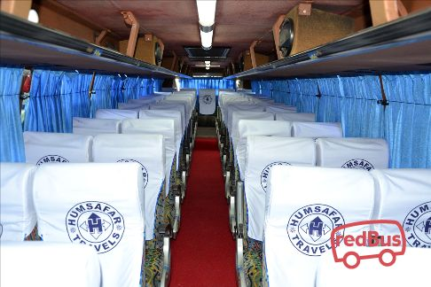 Humsafar Travels Seats