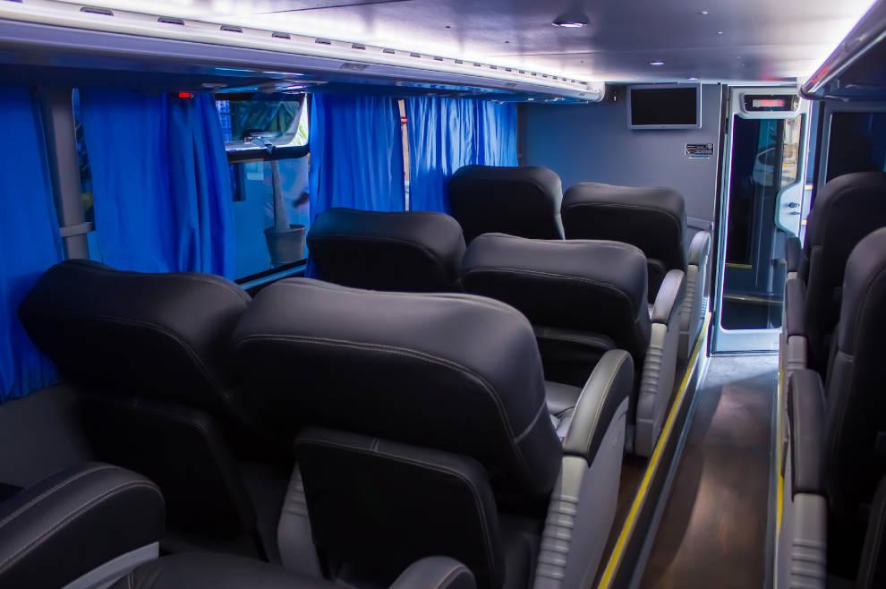 Interiores Bus Cruz del Norte