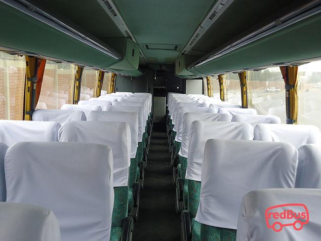 Interiores Bus Cruzero Express