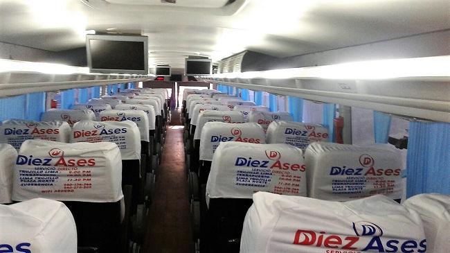 Interiores Bus Diez Ases
