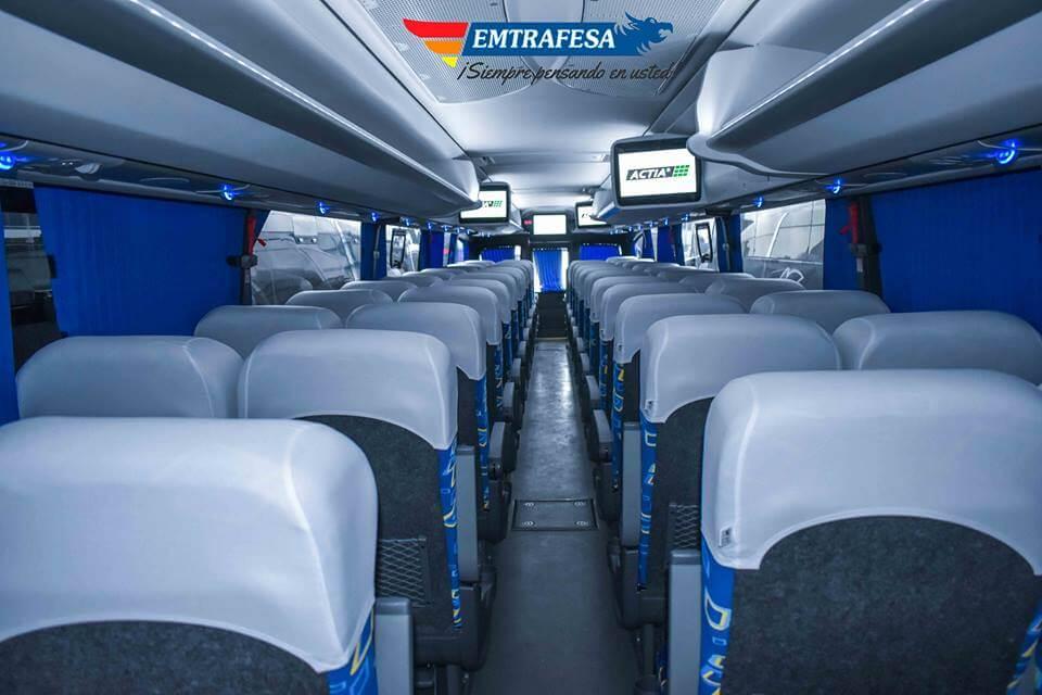 Interiores Bus Emtrafesa