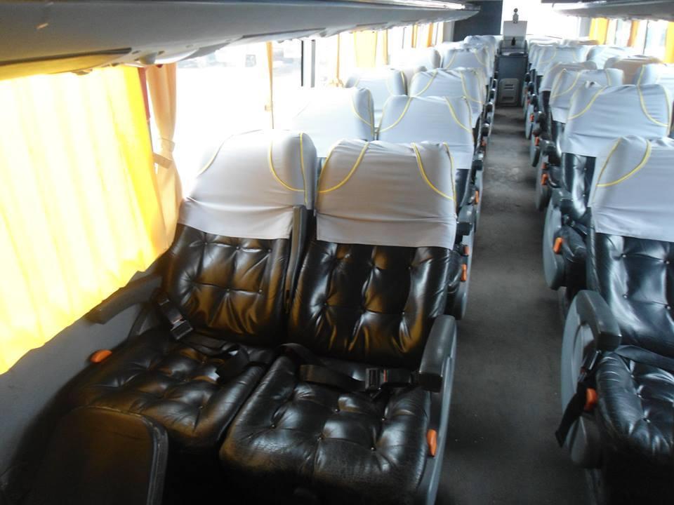 Expreso Perla del Sur Interiores Bus