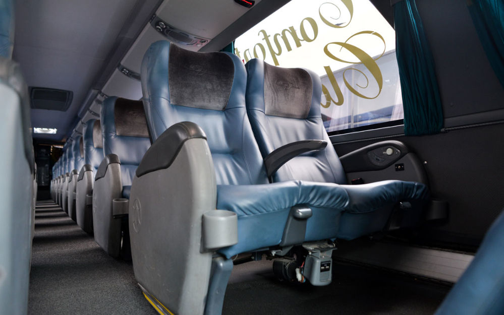 Interior del Bus Gh Bus