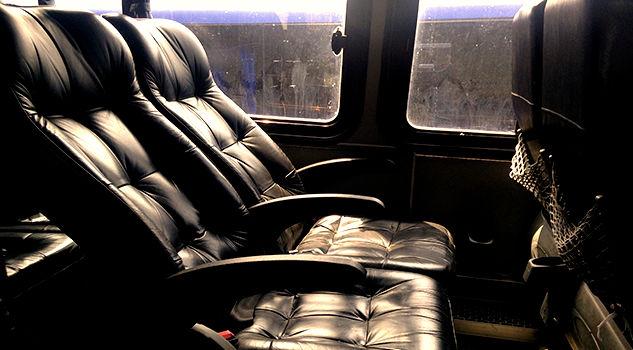 Interior del Bus Transmar