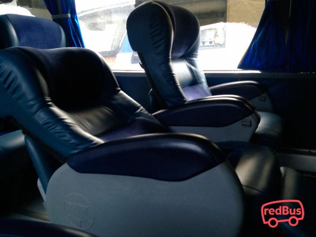 Asientos del Bus Transmar