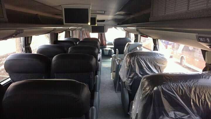 Interior del Bus el Dorado