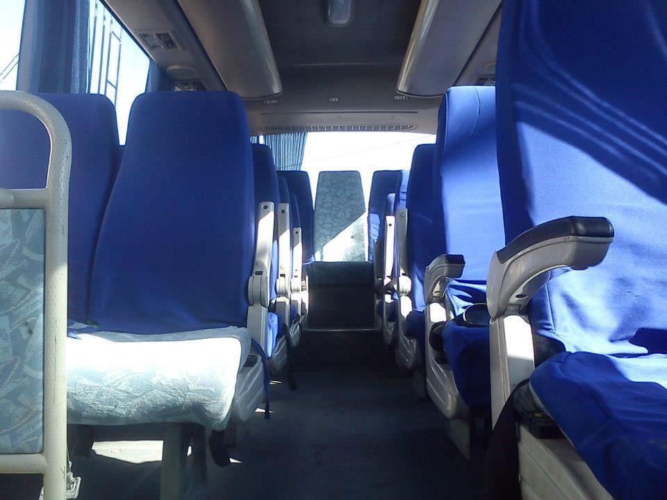 Interior de los Buses de Transportes Inmaculada