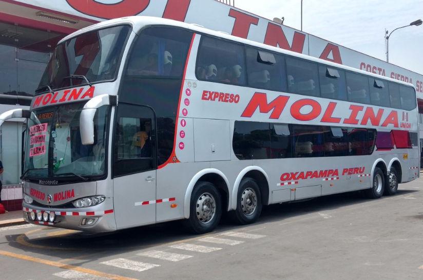 Viajar en Transportes Molina