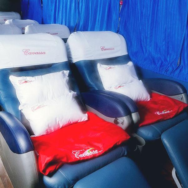 Interior del Bus Turismo Cavass