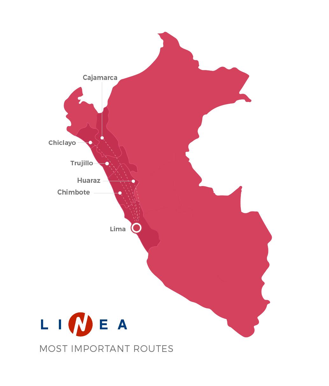 Linea Routes