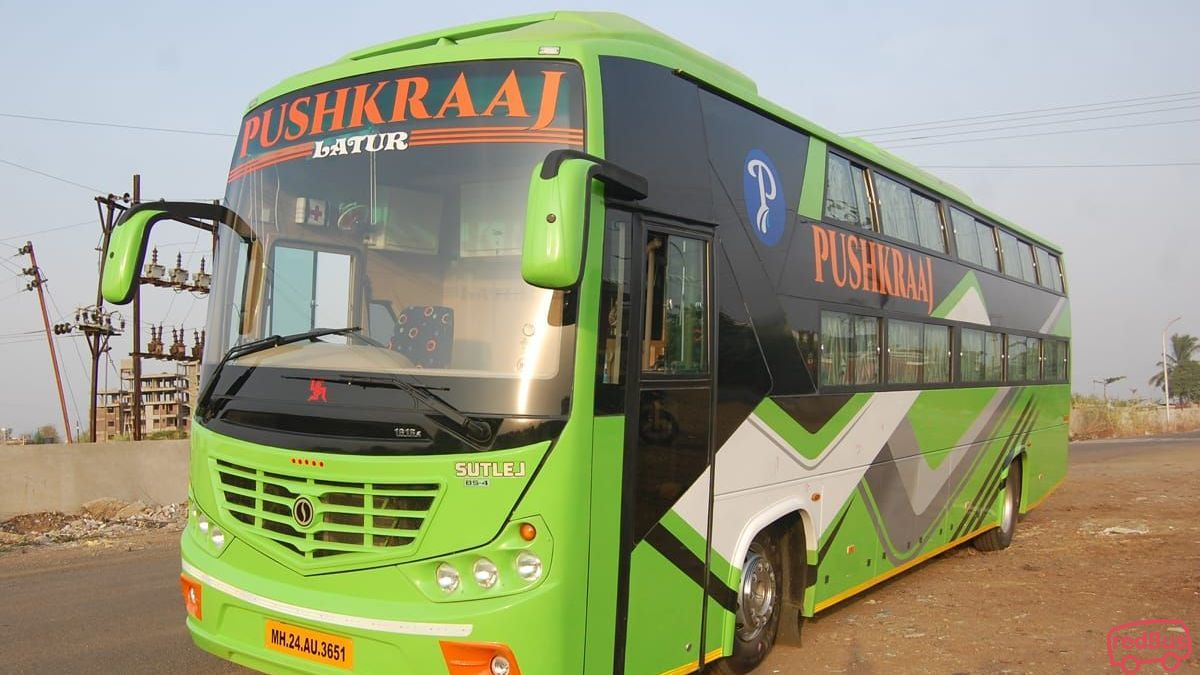 Pushkraaj Pentabus Travels And Logistics Online Bus Ticket Booking Bus Reservation Time Table Fares Redbus In