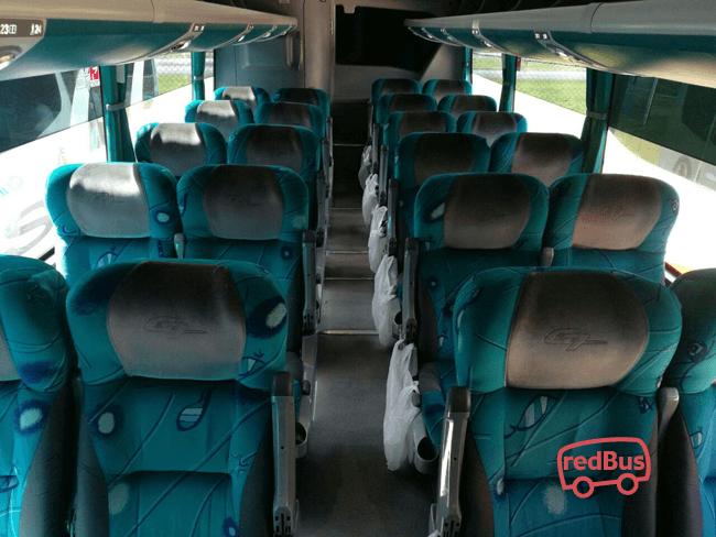 Interior de Buses Arauca