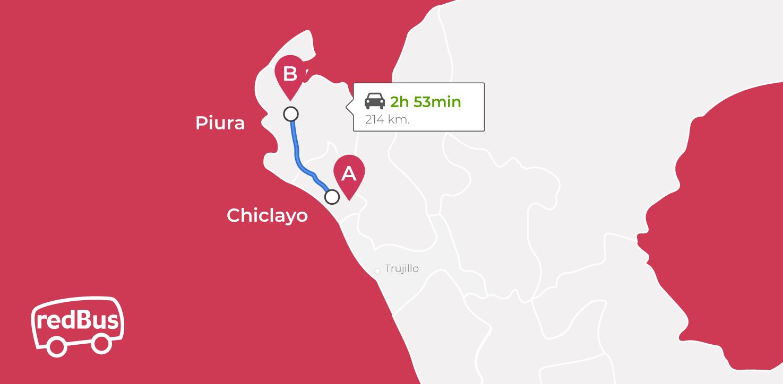 Bus Chiclayo a Piura