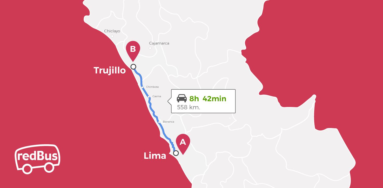 Bus Lima a Trujillo