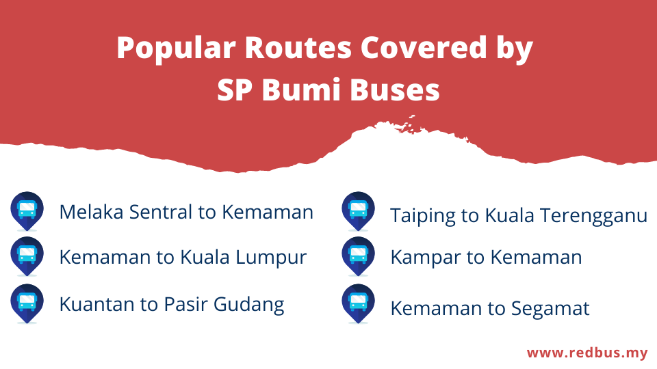 SP Bumi routes