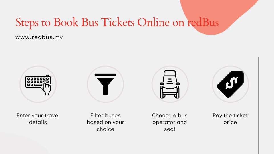 How to book bus tickets online on Malaysia