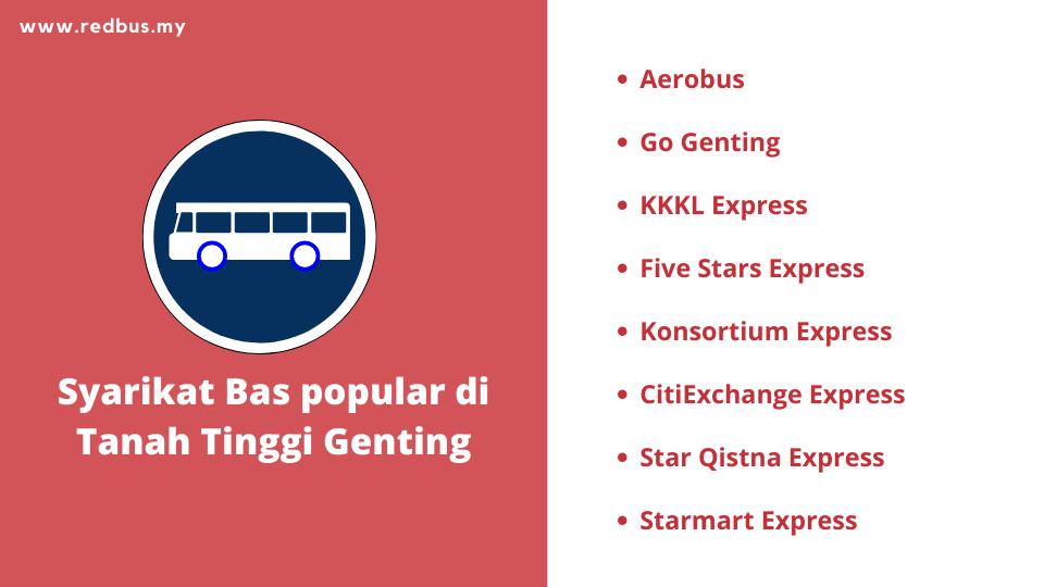 Genting Highlands Buses