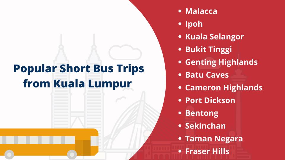Short Trips from Kuala Lumpur by Bus