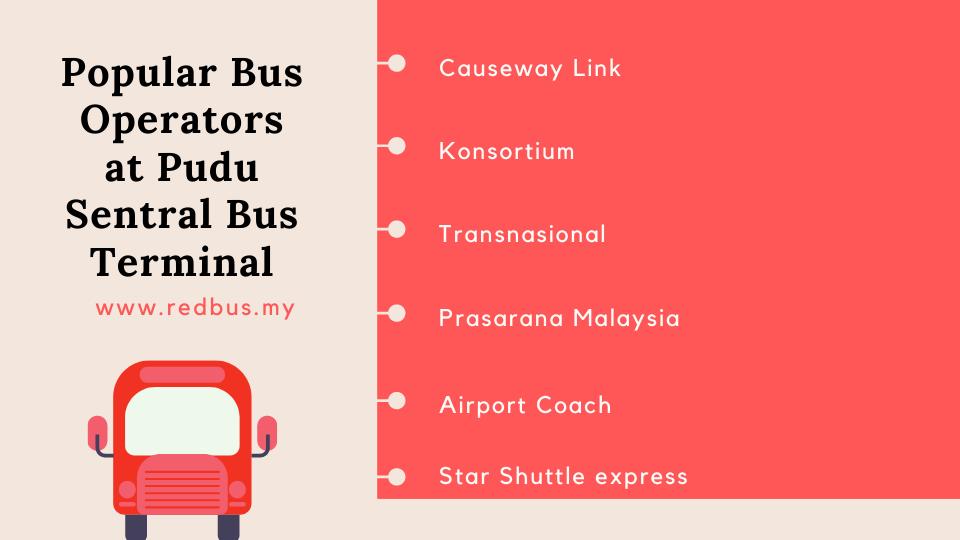 Bus Operators at Pudu Sentral Bus Terminal
