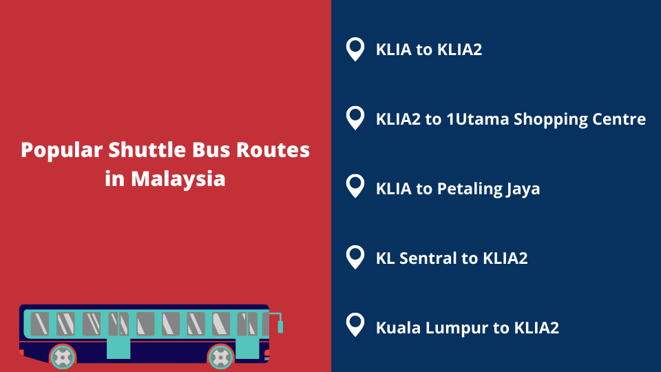 Shuttle Bus Routes in Malaysia