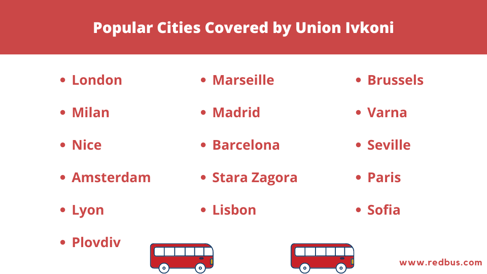 Union Ivkoni buses