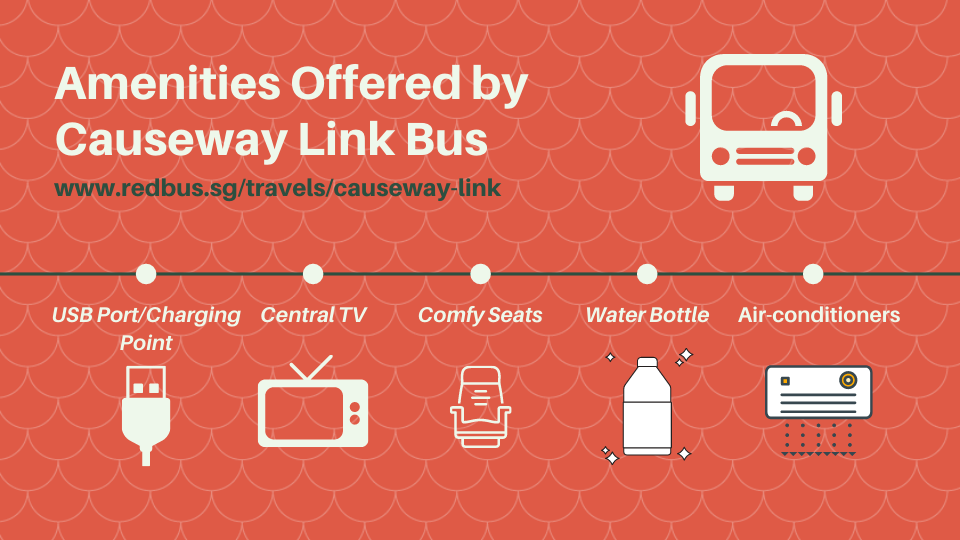 amenities by causeway link bus singapore